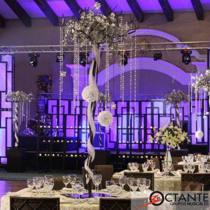 árbol decorativo para bodas y eventos espectaculares