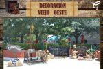 Ambientación decorativa fotográfica tema Viejo Oeste, da click para reservar en el enlace