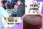 Diviértete como en los grandes casinos con la mesa de Blackjack o 21 en renta para tu fiesta, reserva ya!