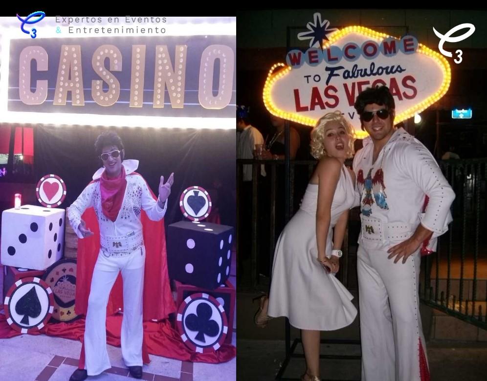 Elvis en tu evento!!! Recibiendo a tus invitados a tu fiesta Welcome to Las Vegas, reserva ahora!