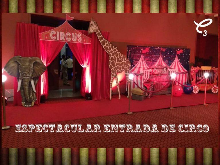 Entrada de circo decorativa, renta ya esta espectacular decoración . Sigue el enlace de nuestra tienda!