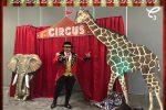 Entrada de circo decorativa, renta ya esta espectacular decoración. Sigue el enlace de nuestra tienda!