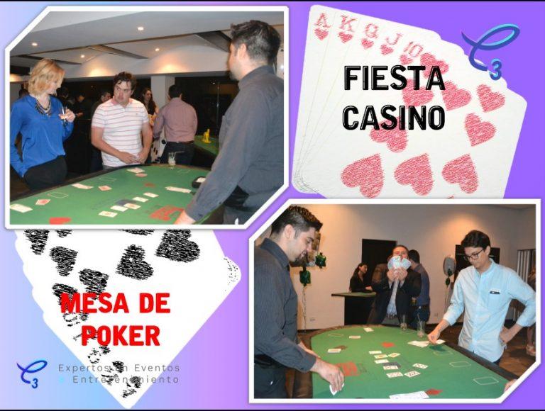 Renta de mesa de poker fiesta tema casino , vive la emoción de ganarle a la casa en tu evento