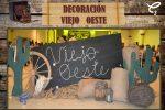 Set decorativo fotográfico tema Viejo Oeste, da click para reservar en el enlace