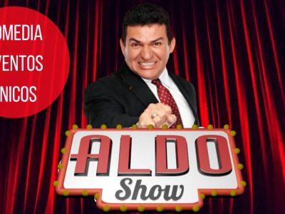 aldo show comediante contrataciones 8444-550-550 reserva en linea y descarga una cotización para tu empresa siguiendo este enlace: https://reservas.events/servicio/aldo-show/